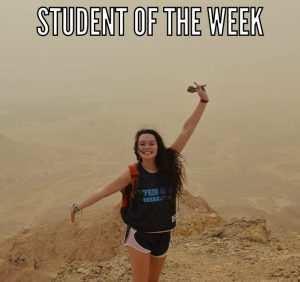 Student of the week – miranda l