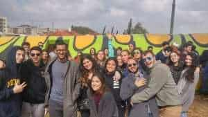 Sderot together with the Tel Aviv group