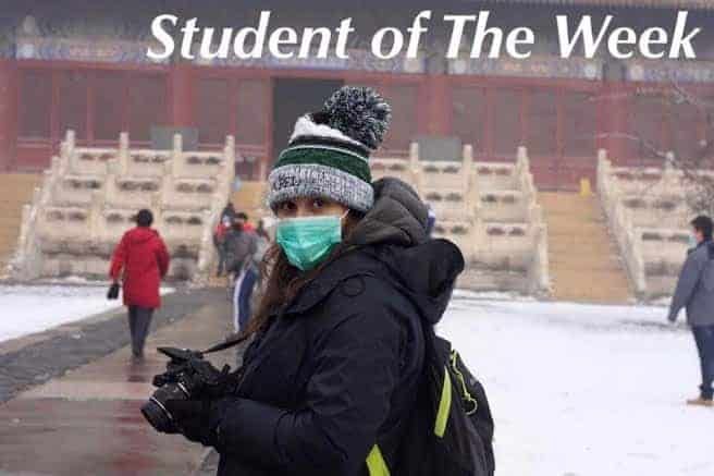 Student of the Week – Ruthy Amkraut