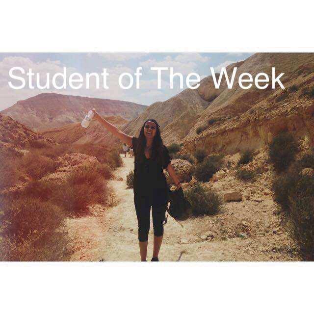 Student of the week - pandora yadgaroff