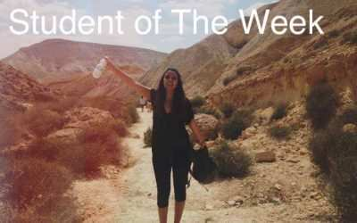 Student of the week – Pandora Yadgaroff