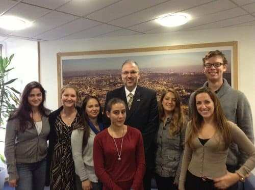meeting with the Israeli ambassador