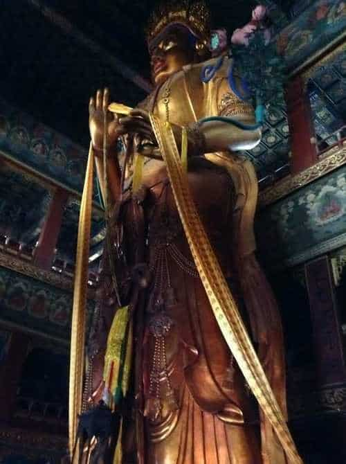 gap year in israel visiting Lama Temple in china