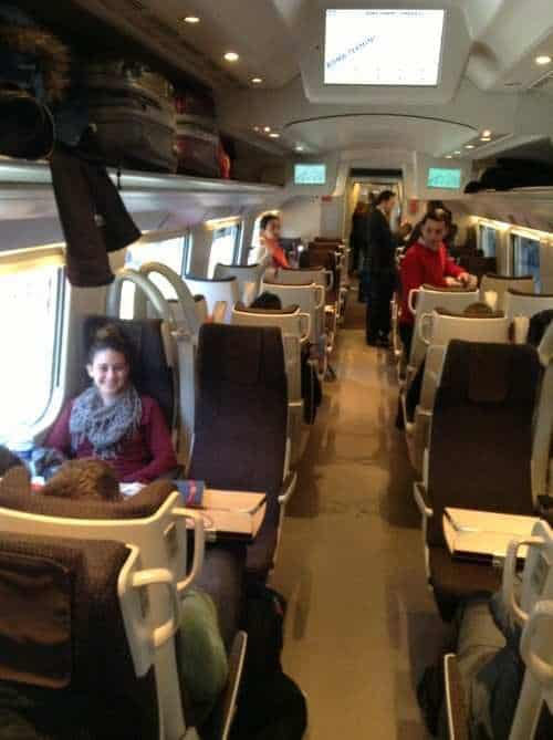 modern train to Florence