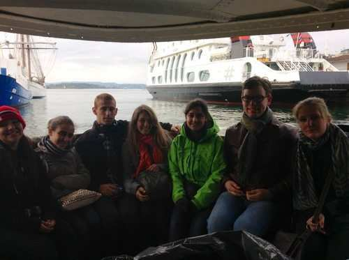 gap year program visiting Norway