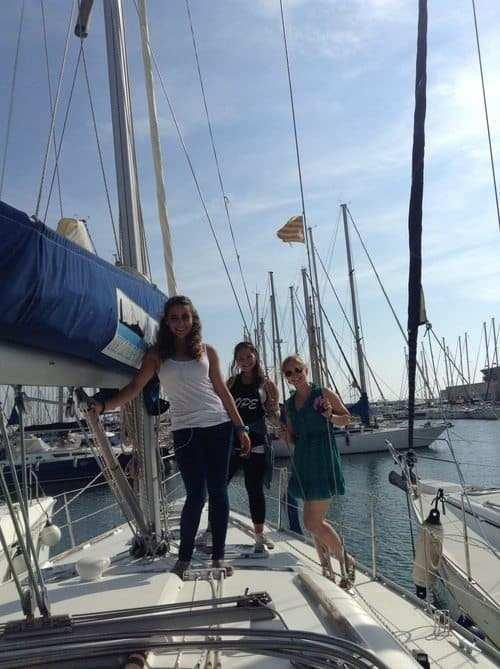 gap year in israel visiting Barcelona