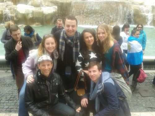 gap year program in israel visiting italy