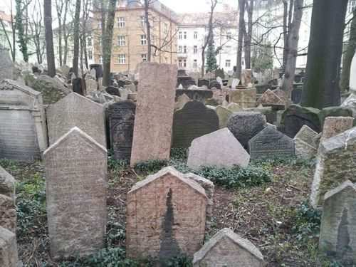 Old Jewish Cemetery in Czech Republic