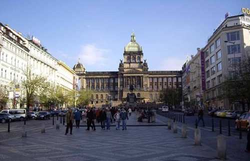 gap year program in israel visiting Wenceslas Square