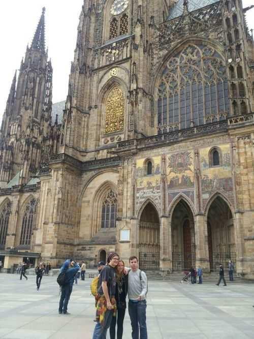 gap year program in israel at the Prague Castle