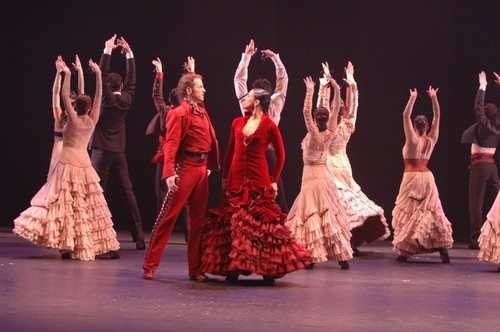 Flamenco show in spain
