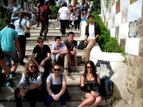 gap year program at the Park Guell
