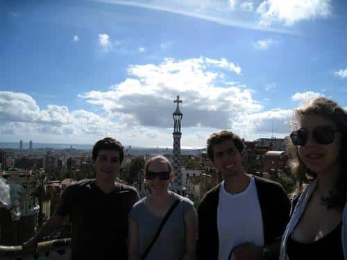 gap year program in israel visiting spain