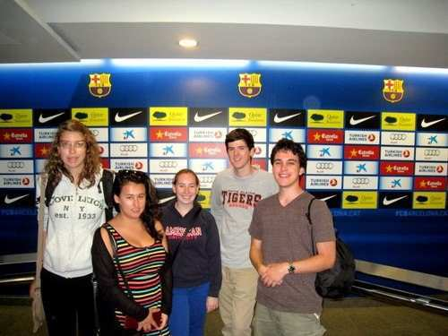 gap year program in israel visiting Football Museum