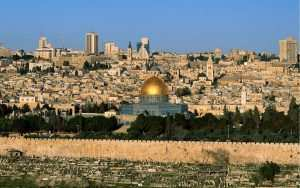 Seeing jerusalem from the rooftops