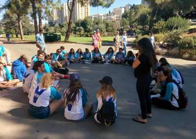 peres gap year program in israel - tel aviv