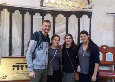weekly updates - gap year program in israel in Jerusalem