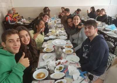 weekly updates - gap year in israel Jerusalem eating