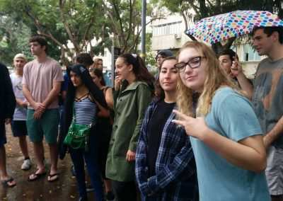 gap year program - weekly updates - tel aviv