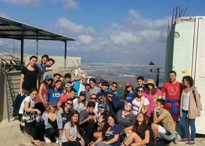 weekly updates - gap year program in israel tel aviv