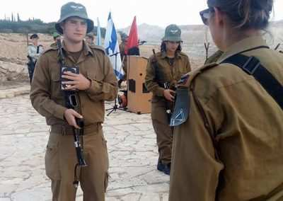 weekly updates - gap year program in israel in army