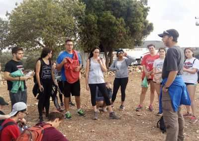 Weekly Updates - Gap year program in israel hiking Jerusalem