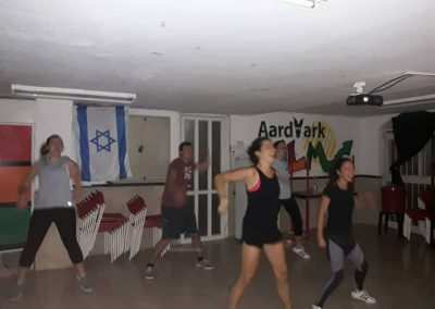 weekly updates - jeru in israel  zumba class