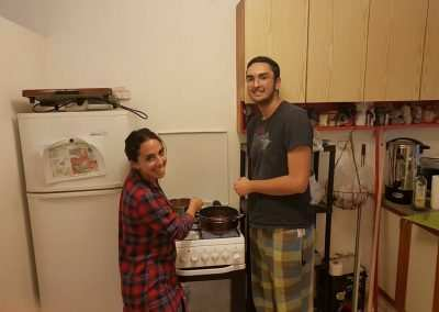 Weekly Updates - Gap year program cooking in Jerusalem