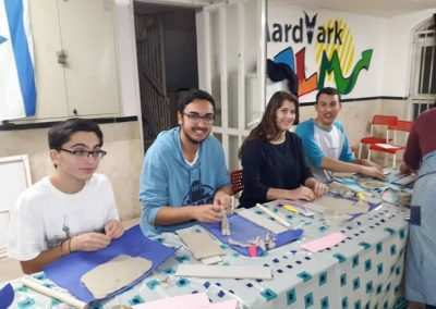 aardvark israel - gap year in israel arts and craft