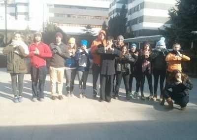 gap year program in israel - International China