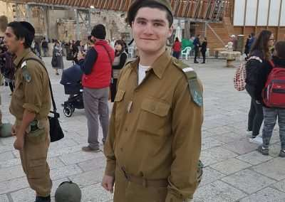 israel army soldier - gap year program