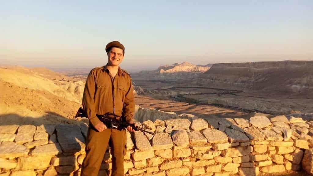 Gap year program in israeli army