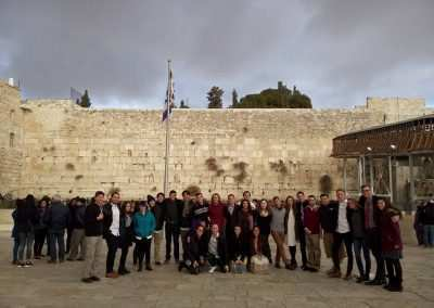 weekly updates at gap year program in israel Jerusalem
