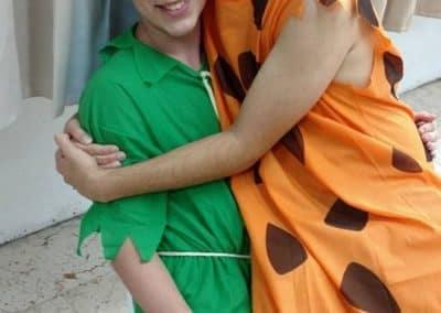 purim dressed up in costumes