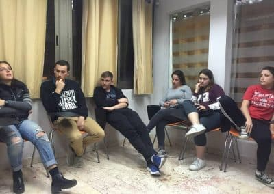 weekly updates of gap year program in tel aviv israel