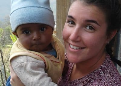 gap year program in nepal with a baby