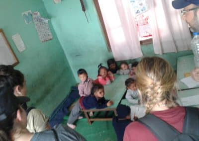 gap year in nepal with little kids