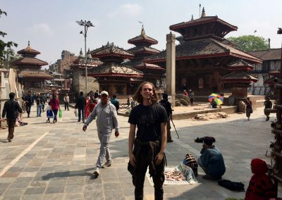 gap year program in israel visiting nepal