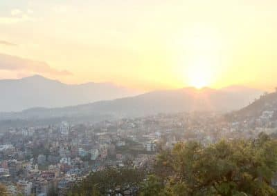 Sunset 2 from monkey temple