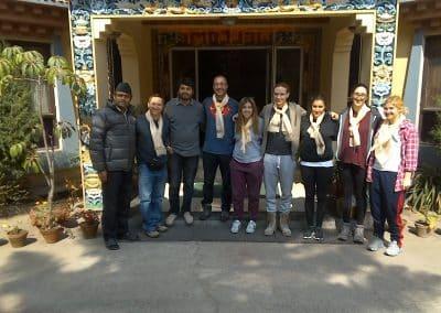 gap year program in israel visiting napal