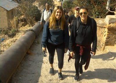 gap year aardvark israel in nepal