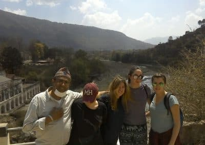 gap year aardvark israel in nepal hiking