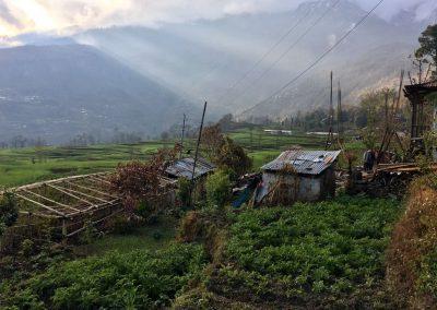 gap year in nepal split in groups