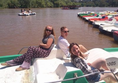 gap year program on boat