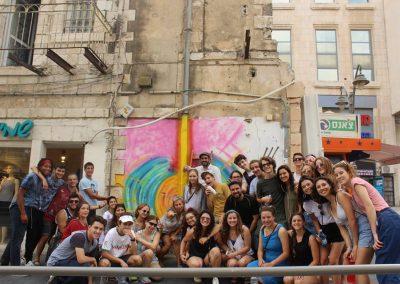 Graffiti Tour of the neighborhood of Nahlaot in Jerusalem