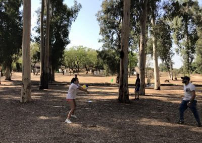 Camping Weekend on a Moshav near Modiin called Havat HaBarbur
