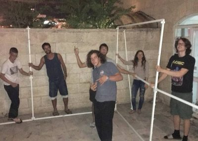 building our Aardvark sukkah