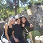 Outside of jerusalem to do a hike called sataf