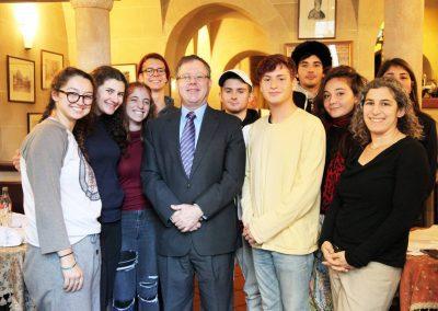 Israeli Ambassador Daniel Meron