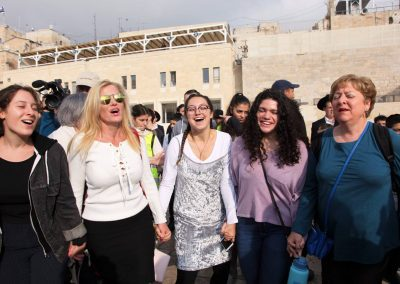 PRAYING WITH WOMEN OF THE WALL 4